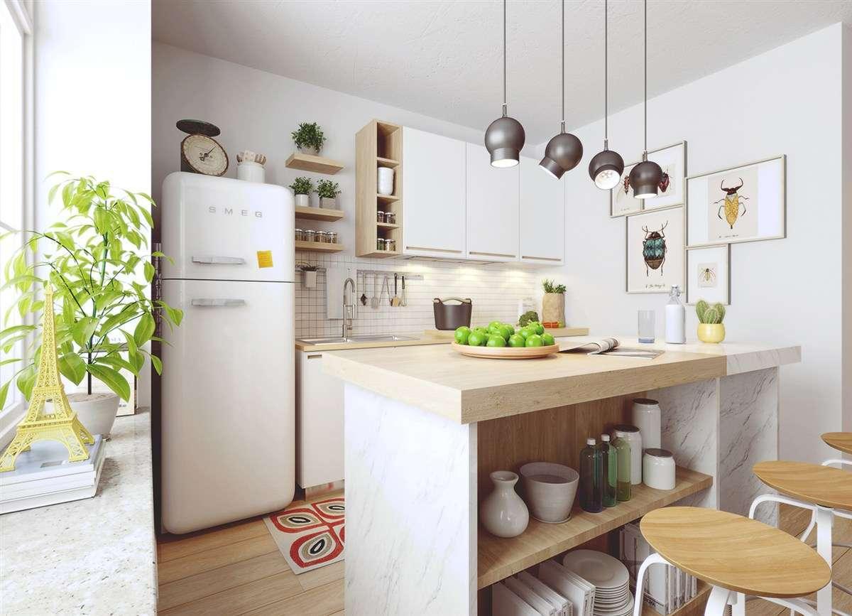 Arredamento Cucina Stile Nordico cucina norvegese: stili, finiture e materiali ideali   di